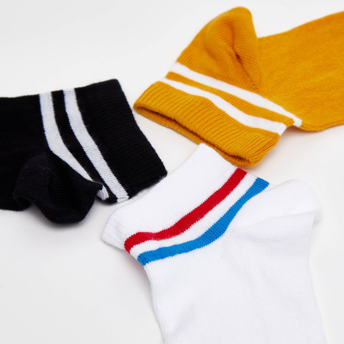 Set of 3 - Ankle Length Socks