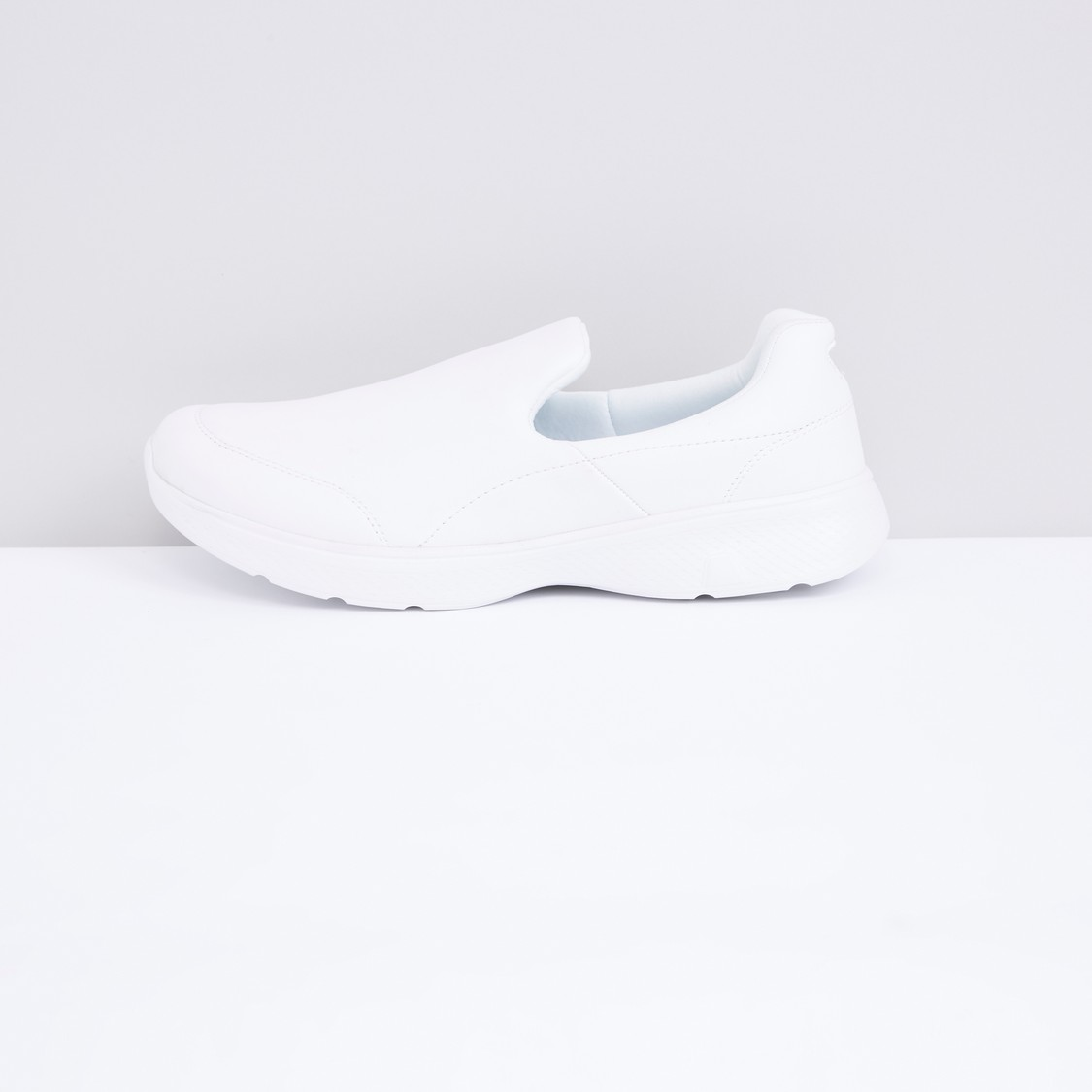 Slip-On Sneakers with Stitch Detail