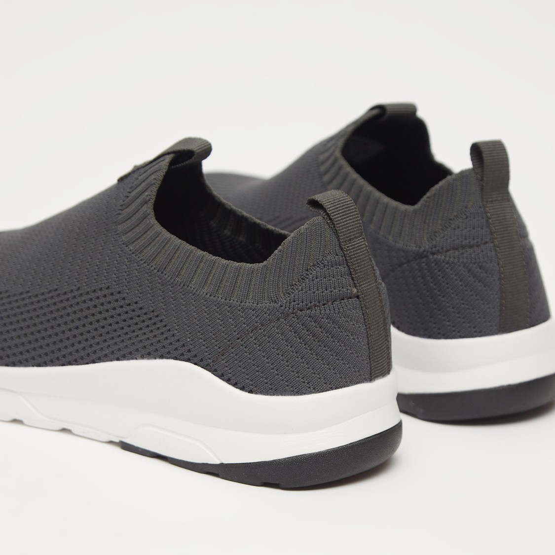 Textured Slip On Sports Shoes