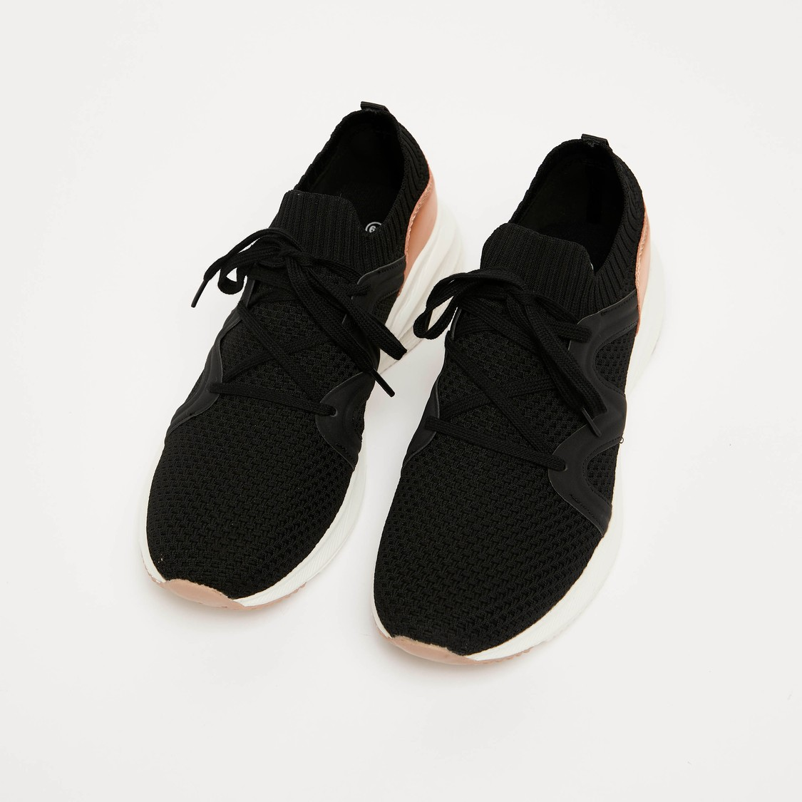 Textured Lace Up Shoes