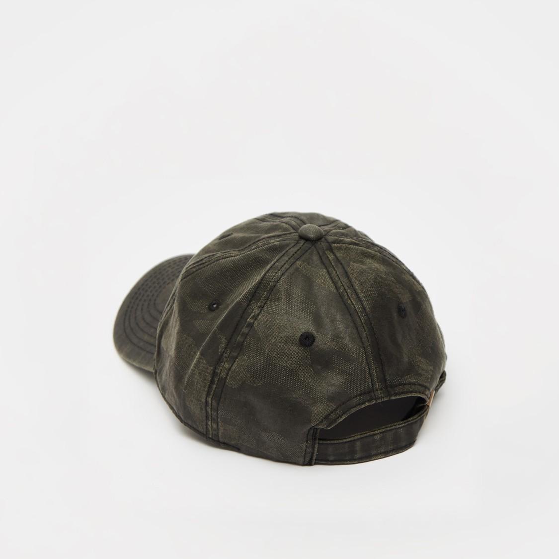 Camouflage Print Adjustable Cap