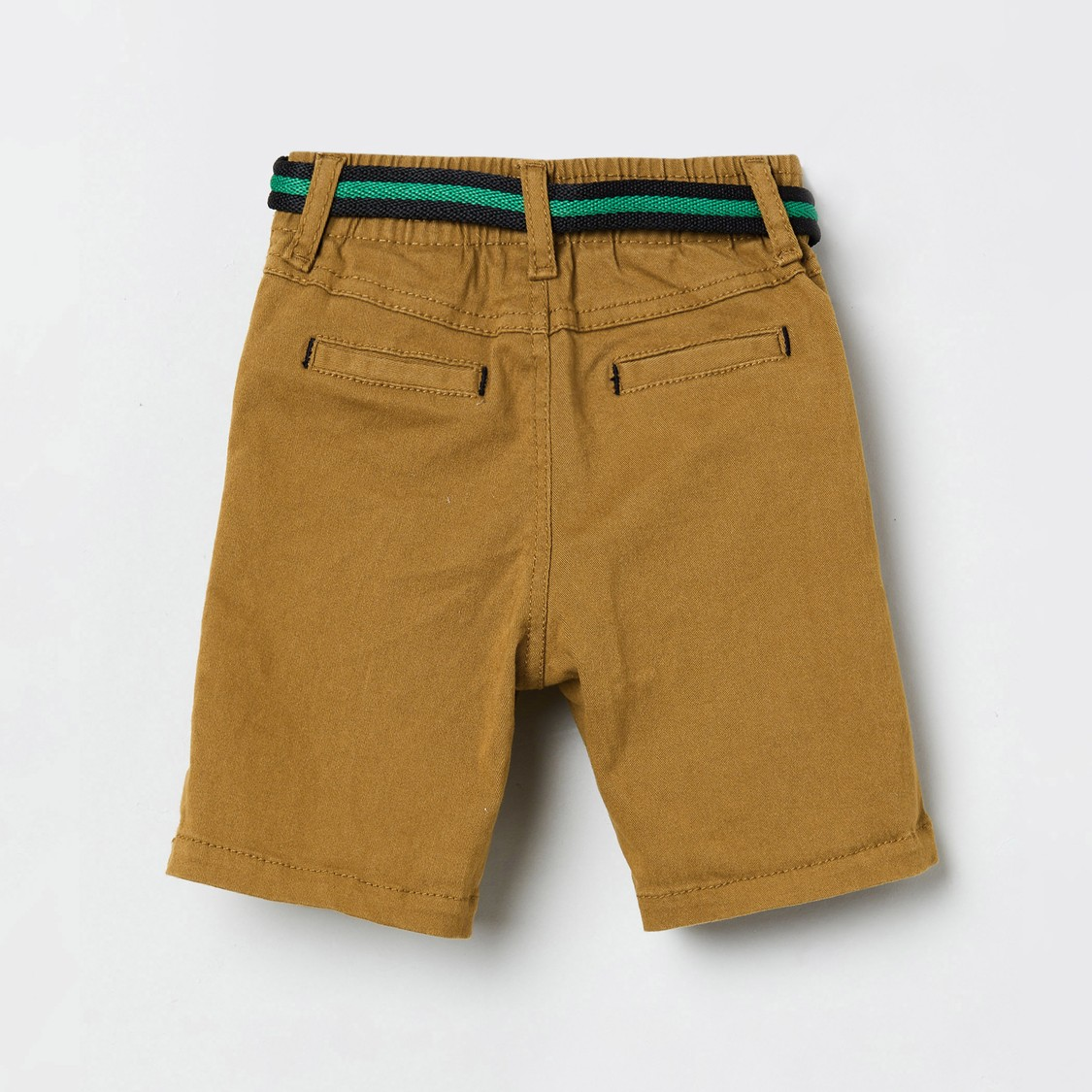 MAX Solid Shorts with Pockets