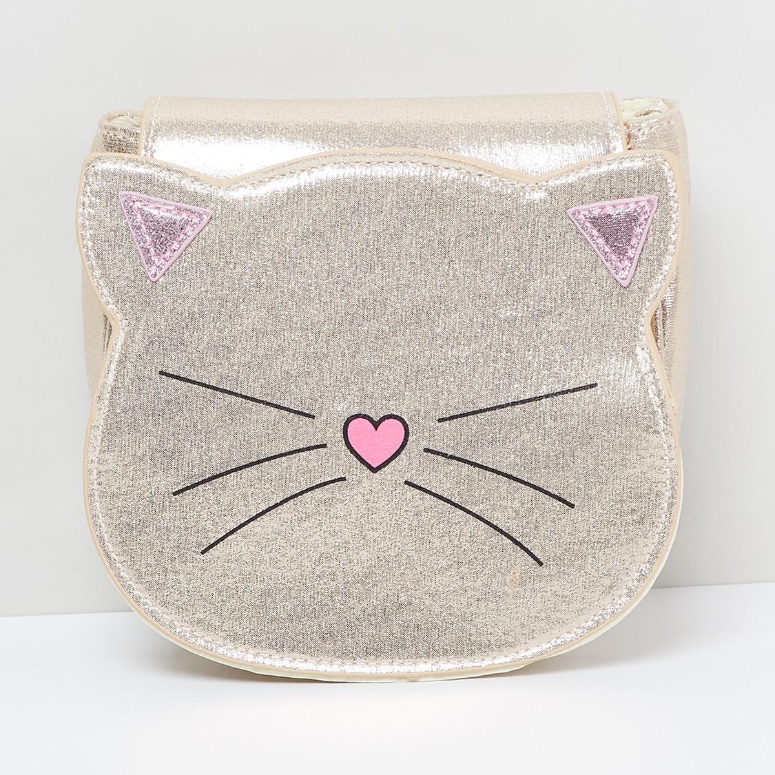 MAX Kitten-Shaped Sling Bag