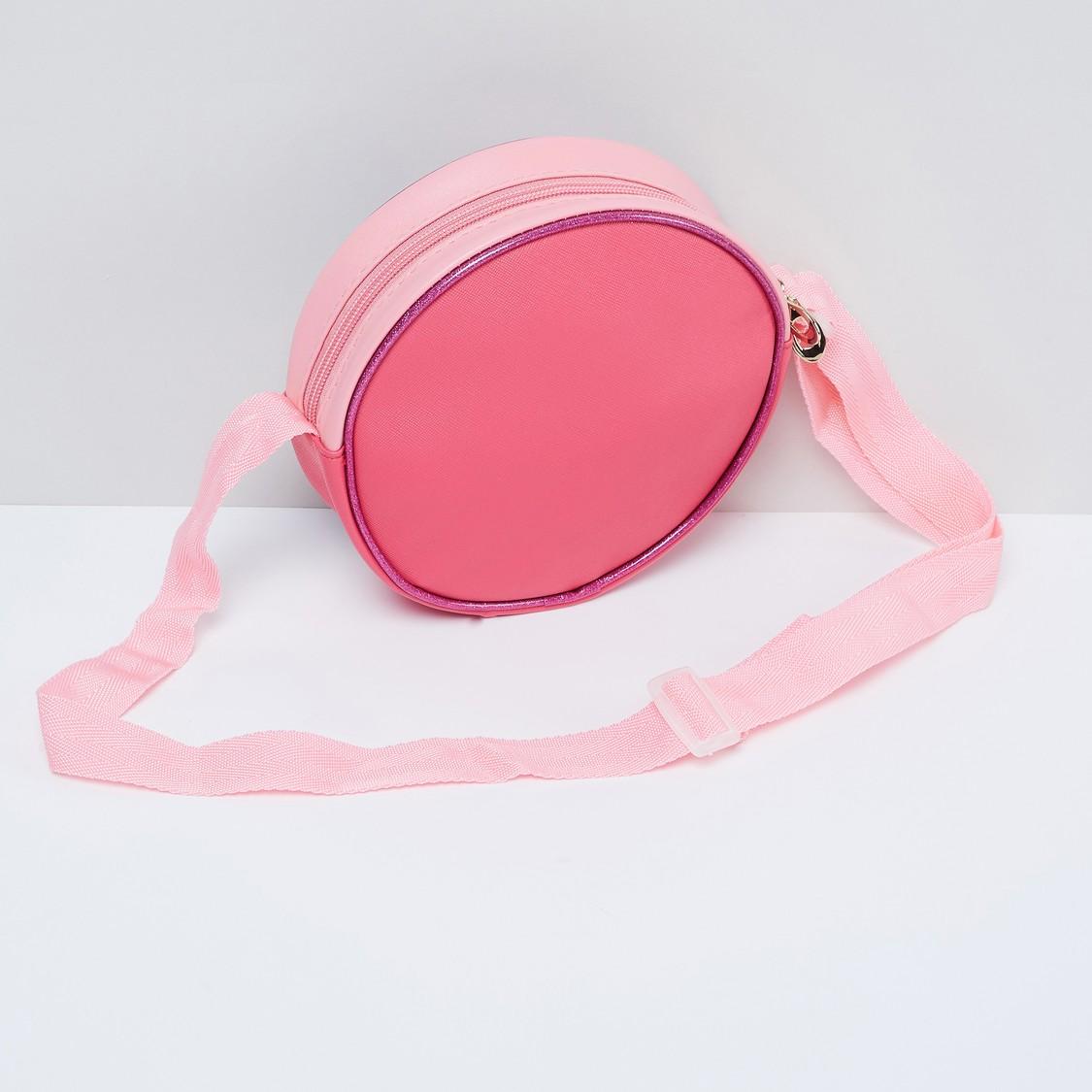 MAX Disney Princess Print Circular Sling Bag