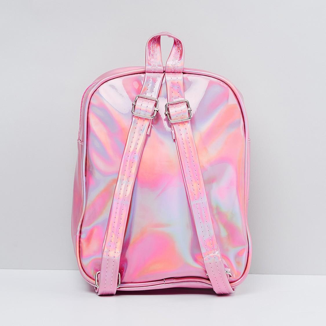 MAX Sequinned Zip-Closure Backpack