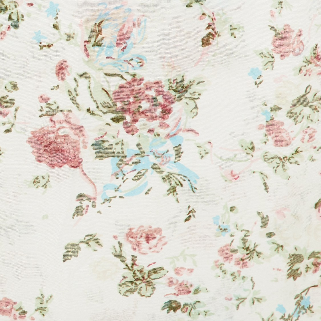 MAX Floral Print Stole