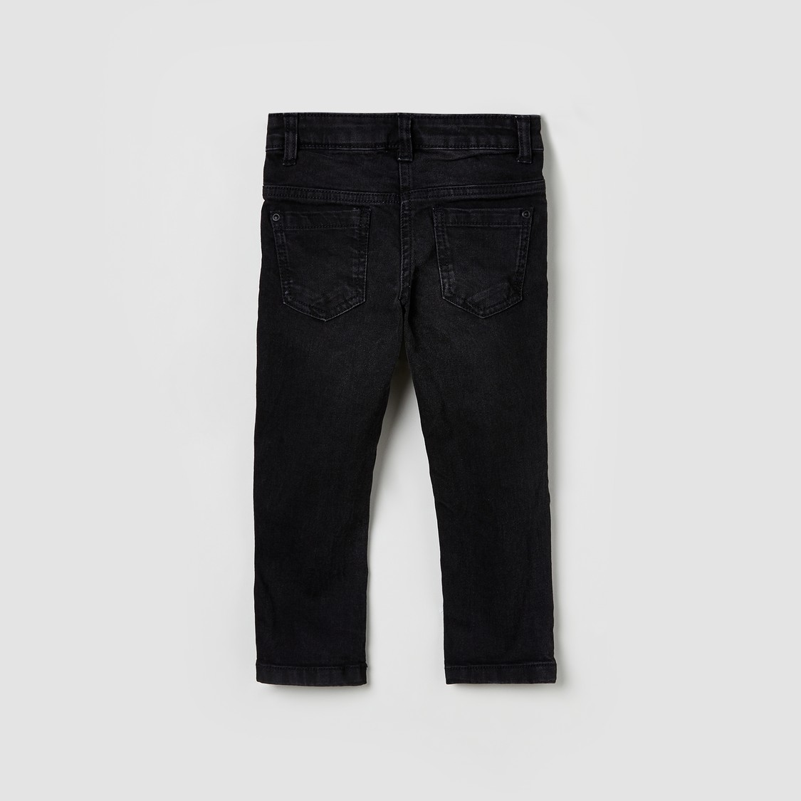 MAX Dark Washed 5-Pocket Jeans