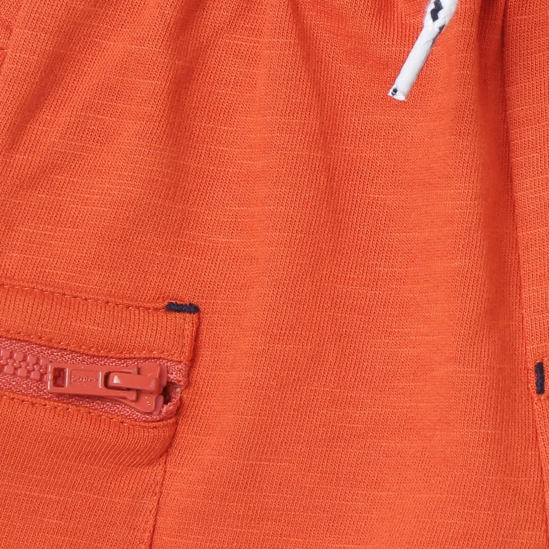 MAX Applique Drawstring Waist Shorts