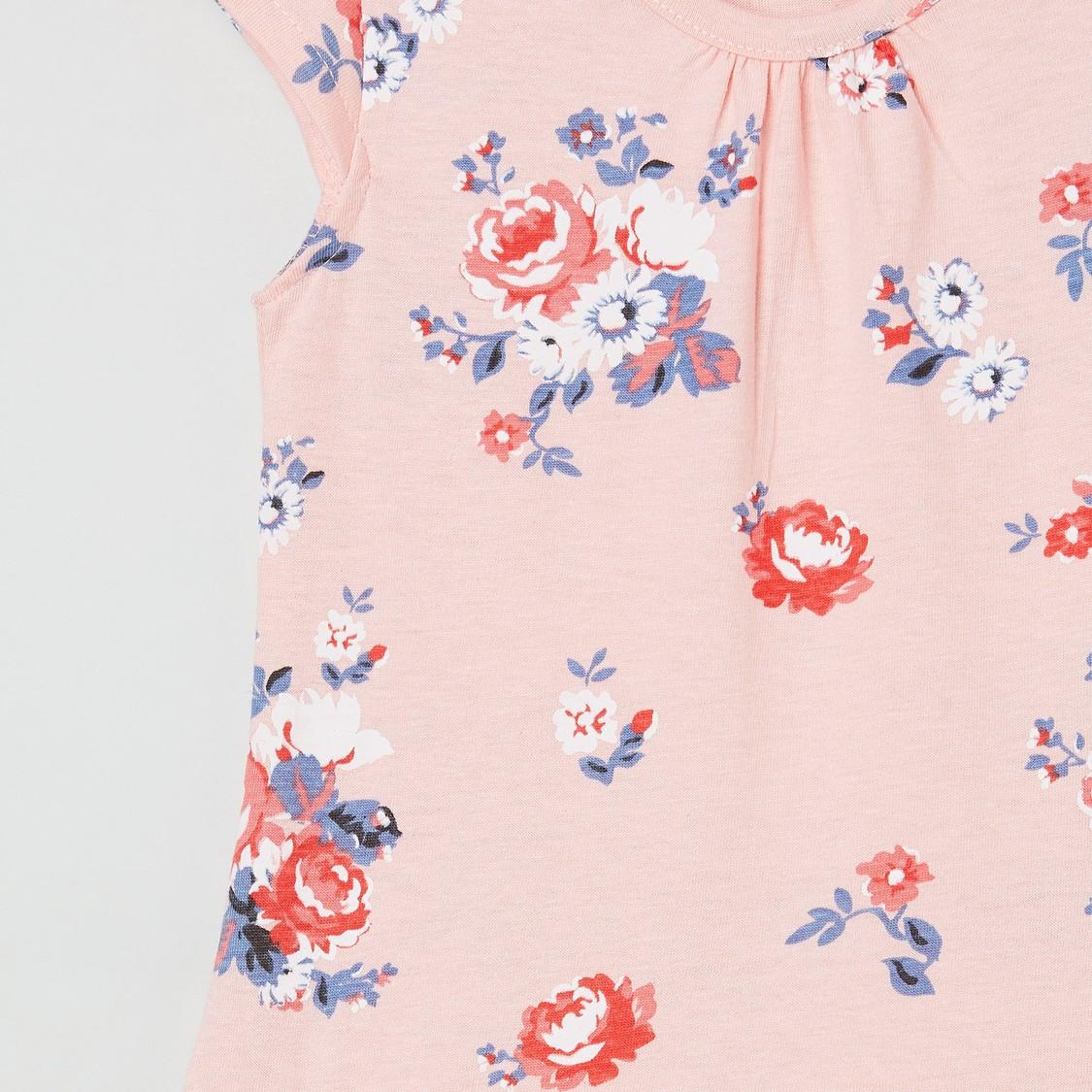 MAX Floral Print Night Dress