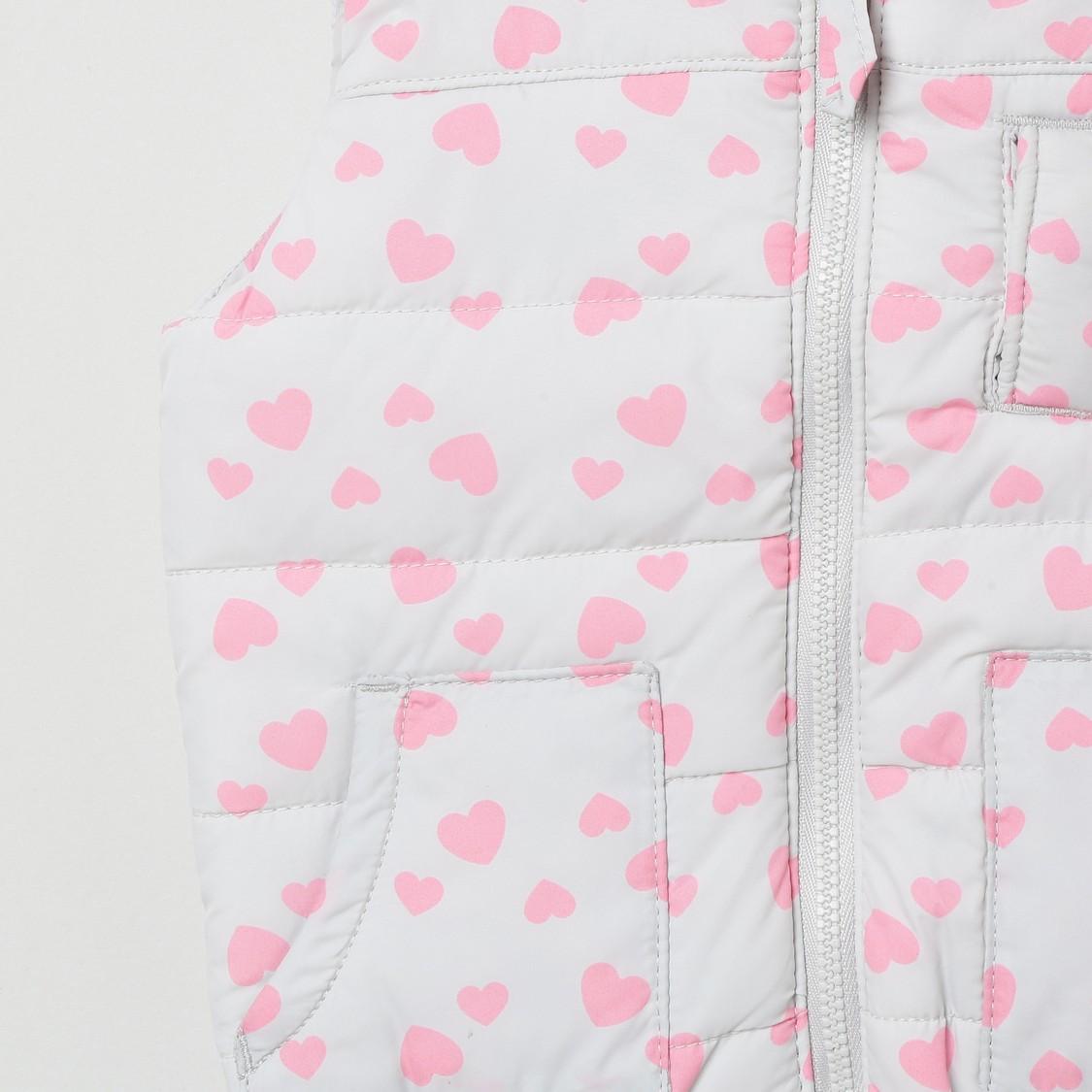 MAX Printed Padded Gilet Jacket