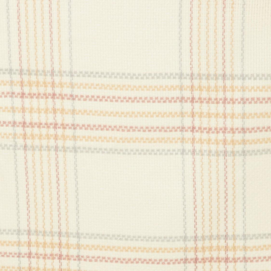 MAX Checked Knit Tassel Detailed Muffler