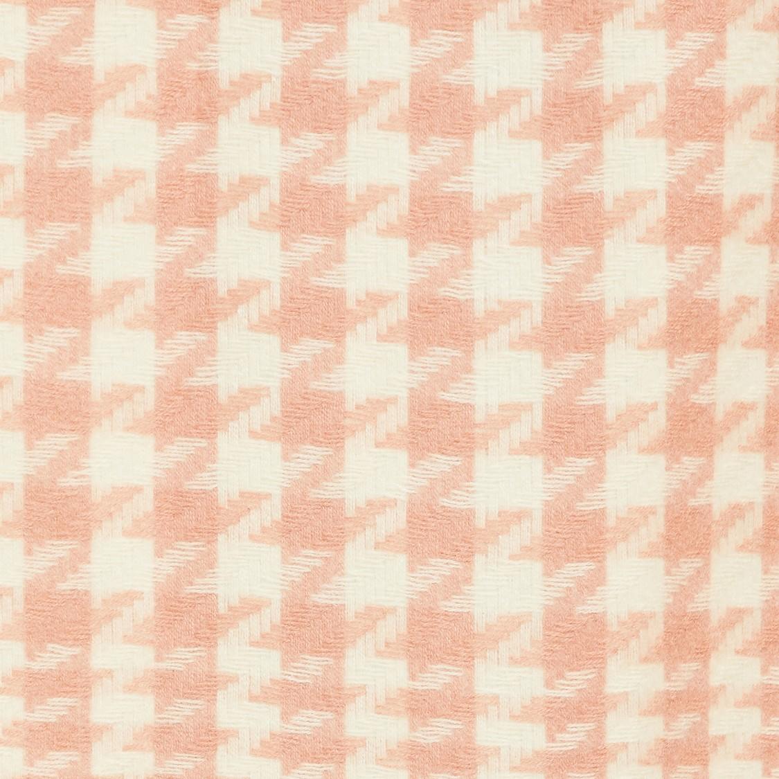 MAX Houndstooth Knit Tassel Detailed Muffler