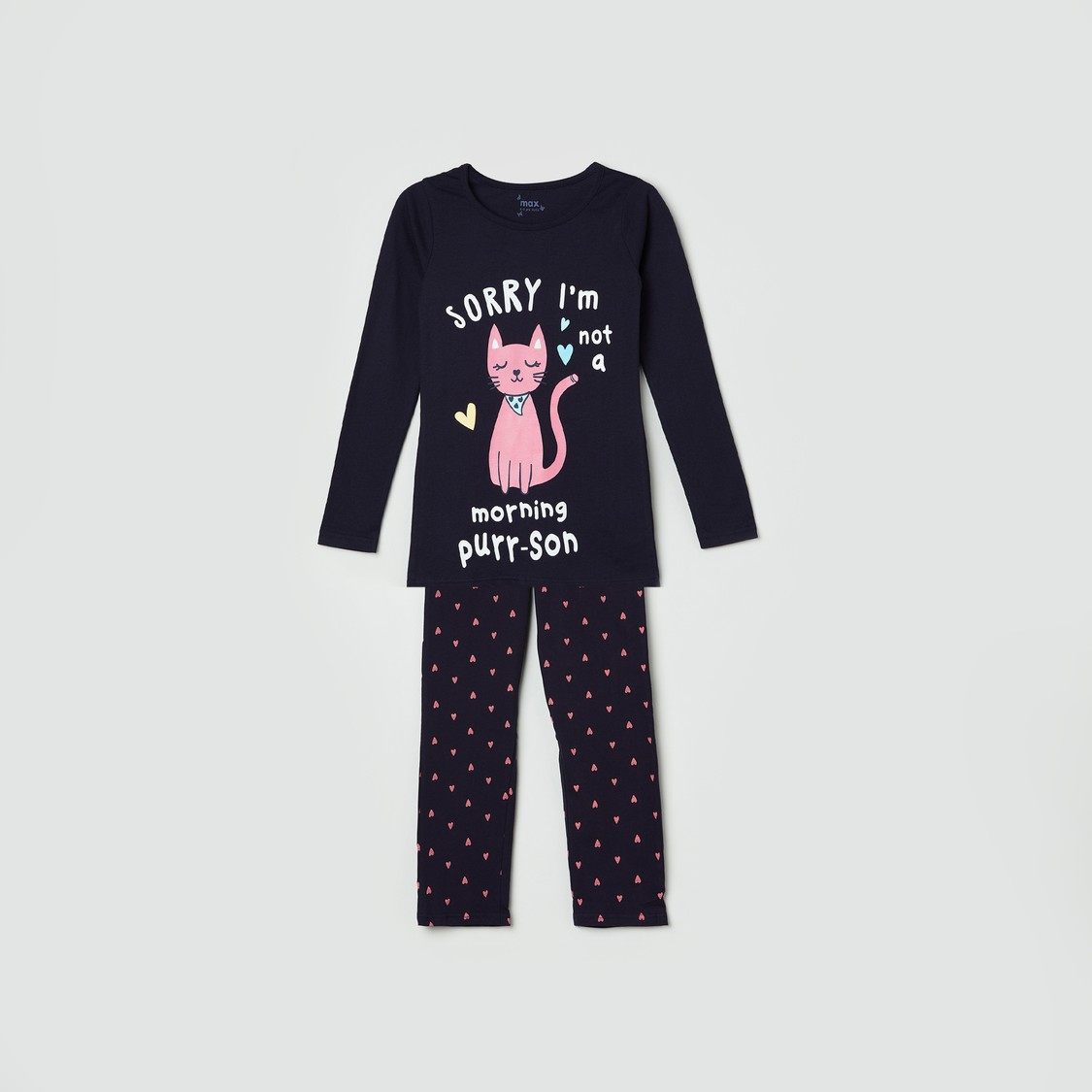 MAX Printed T-shirt with Elasticated Pants