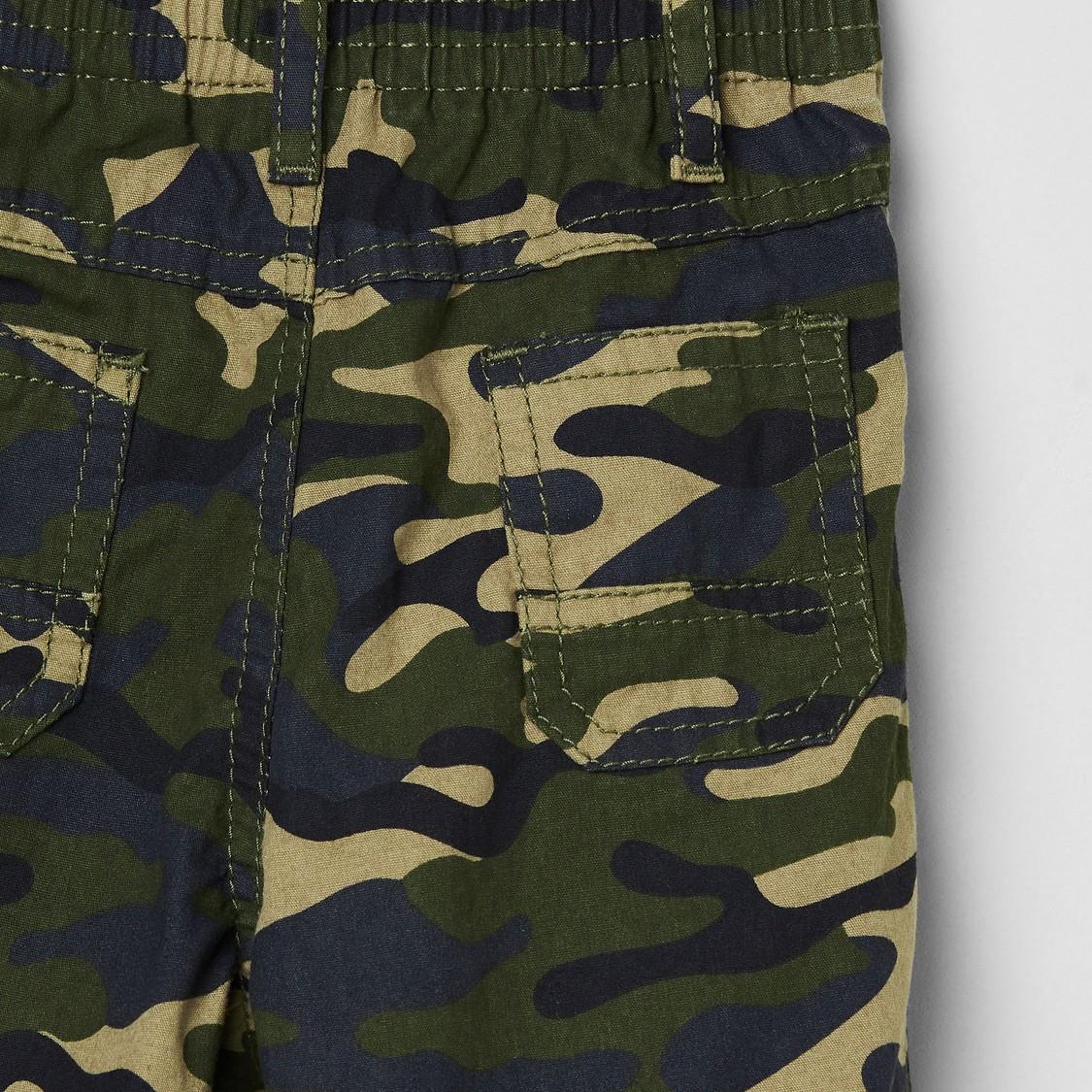 Max Camouflage Print Pants