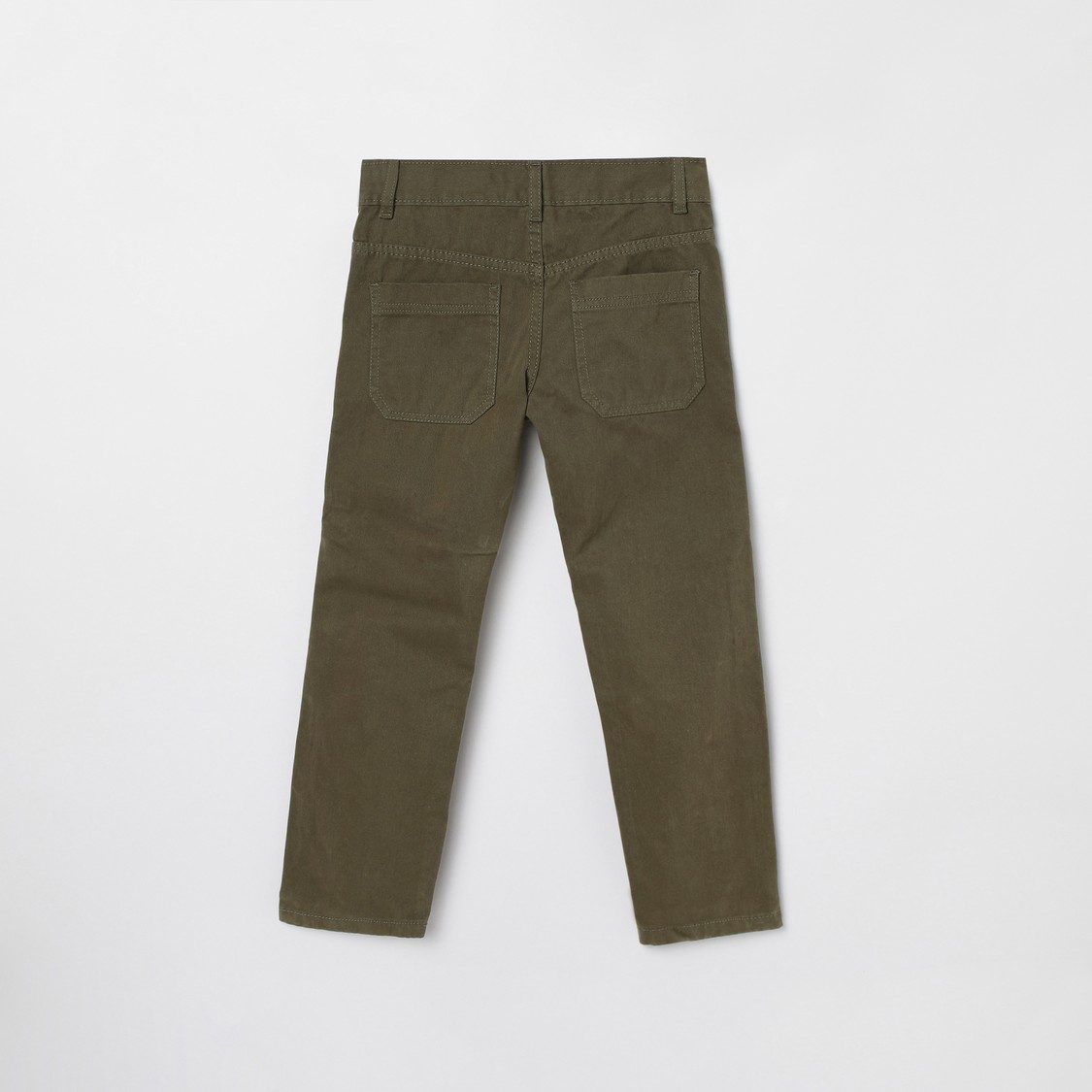 MAX Solid Full Length Trousers