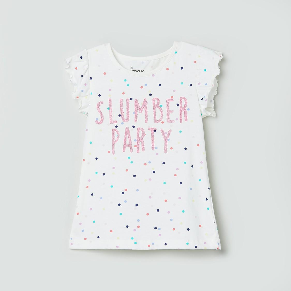MAX Printed Top with Pyjamas