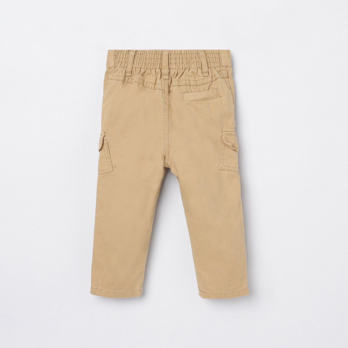 MAX Solid Full Length Woven Trousers