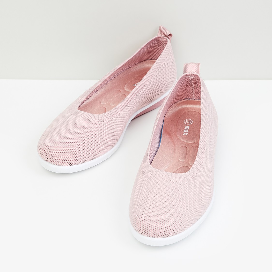 MAX Textured Slip-On Canvas Shoes