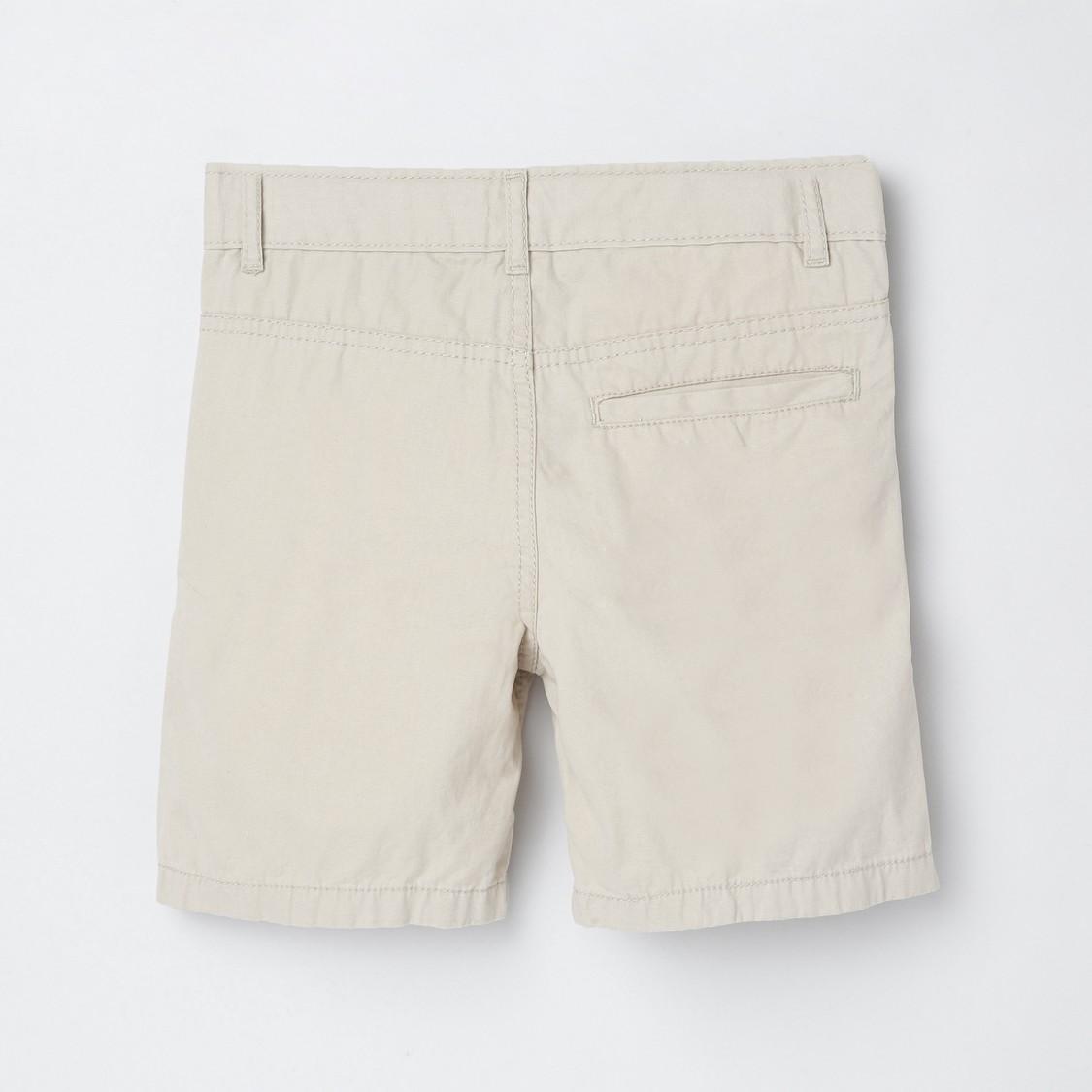 MAX Solid Regular Fit City Shorts