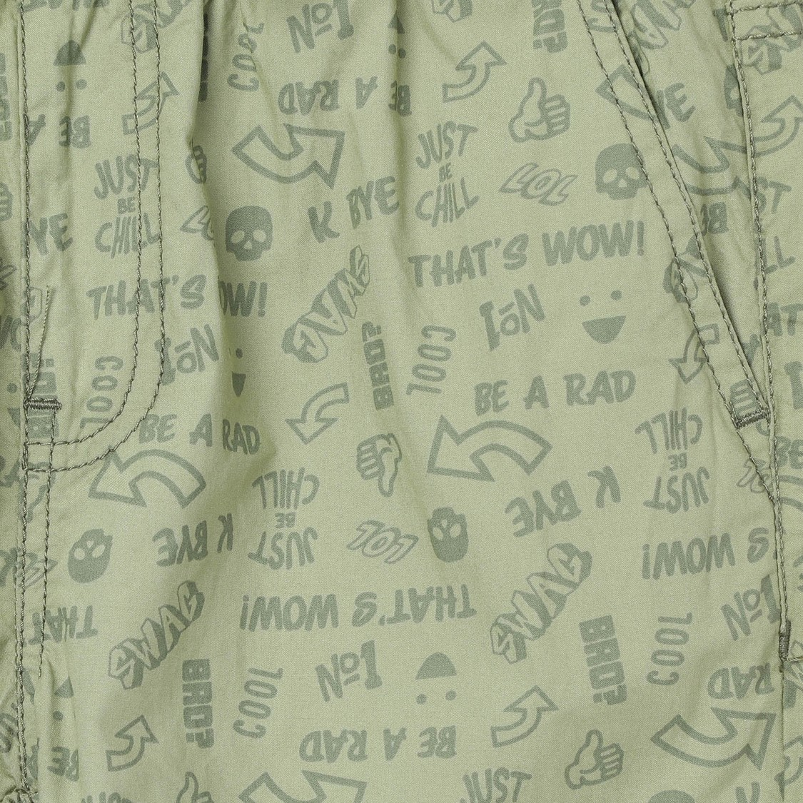 MAX Printed Jogger Trousers