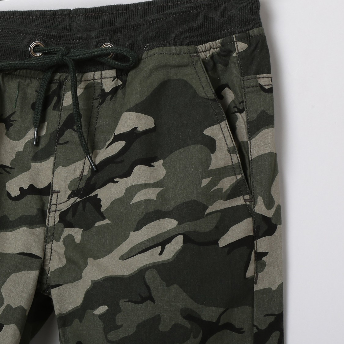 MAX Camouflage Print Elasticated Trousers
