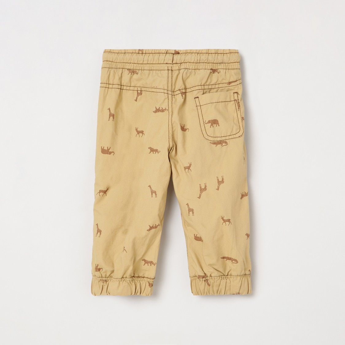 MAX Printed Elasticated Jogger Trousers