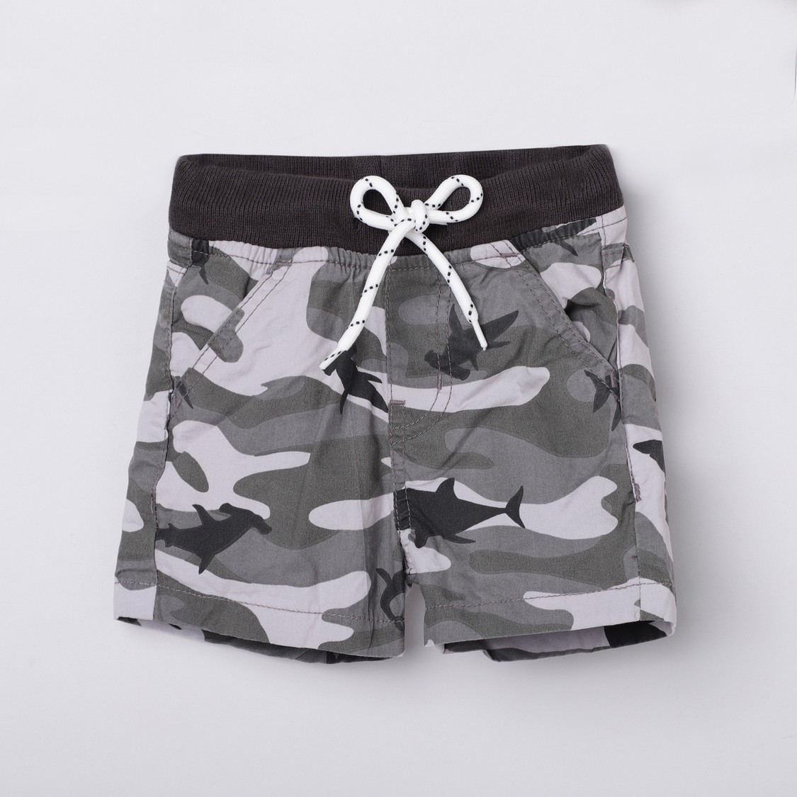 MAX Camouflage Printed Elasticated Shorts