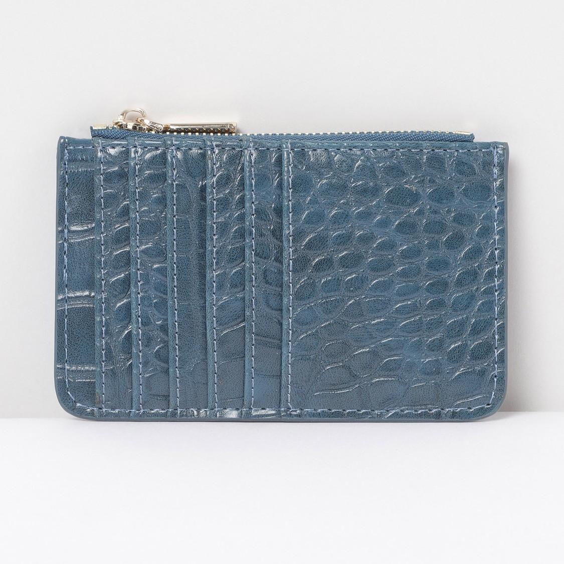 MAX Textured Card Holder Wallet