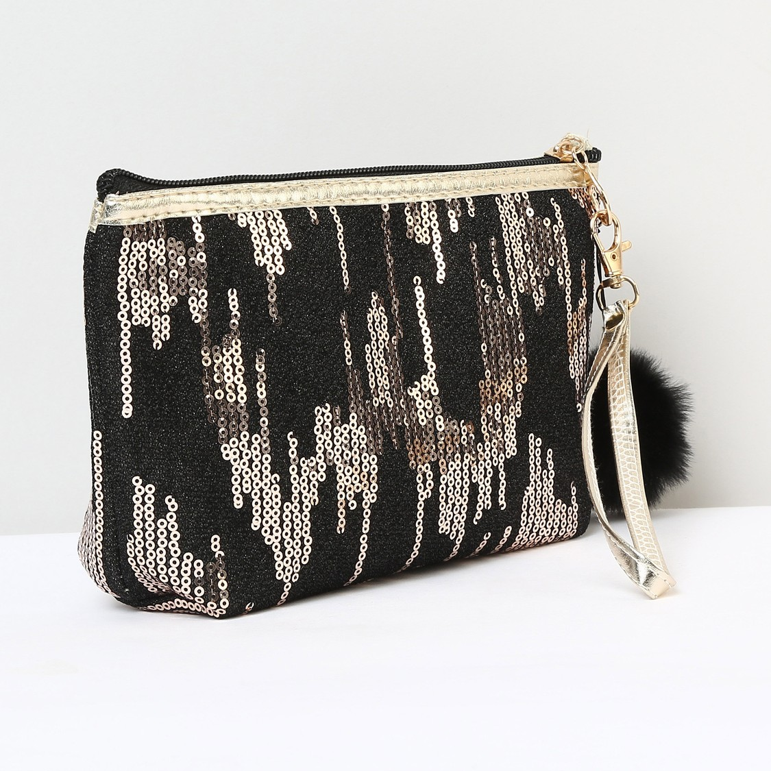 MAX Sequinned Pouch