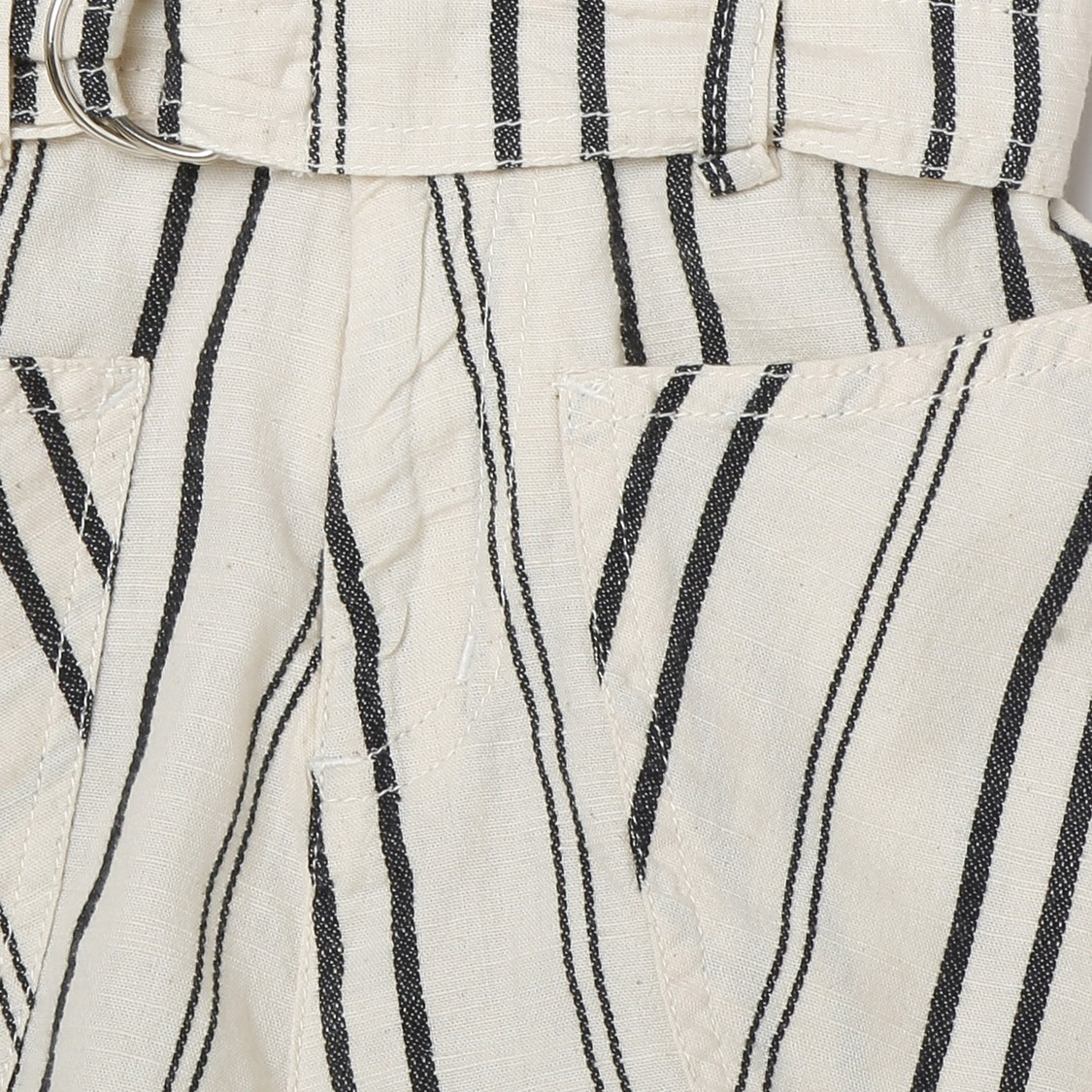 MAX Striped Elasticated Woven Shorts