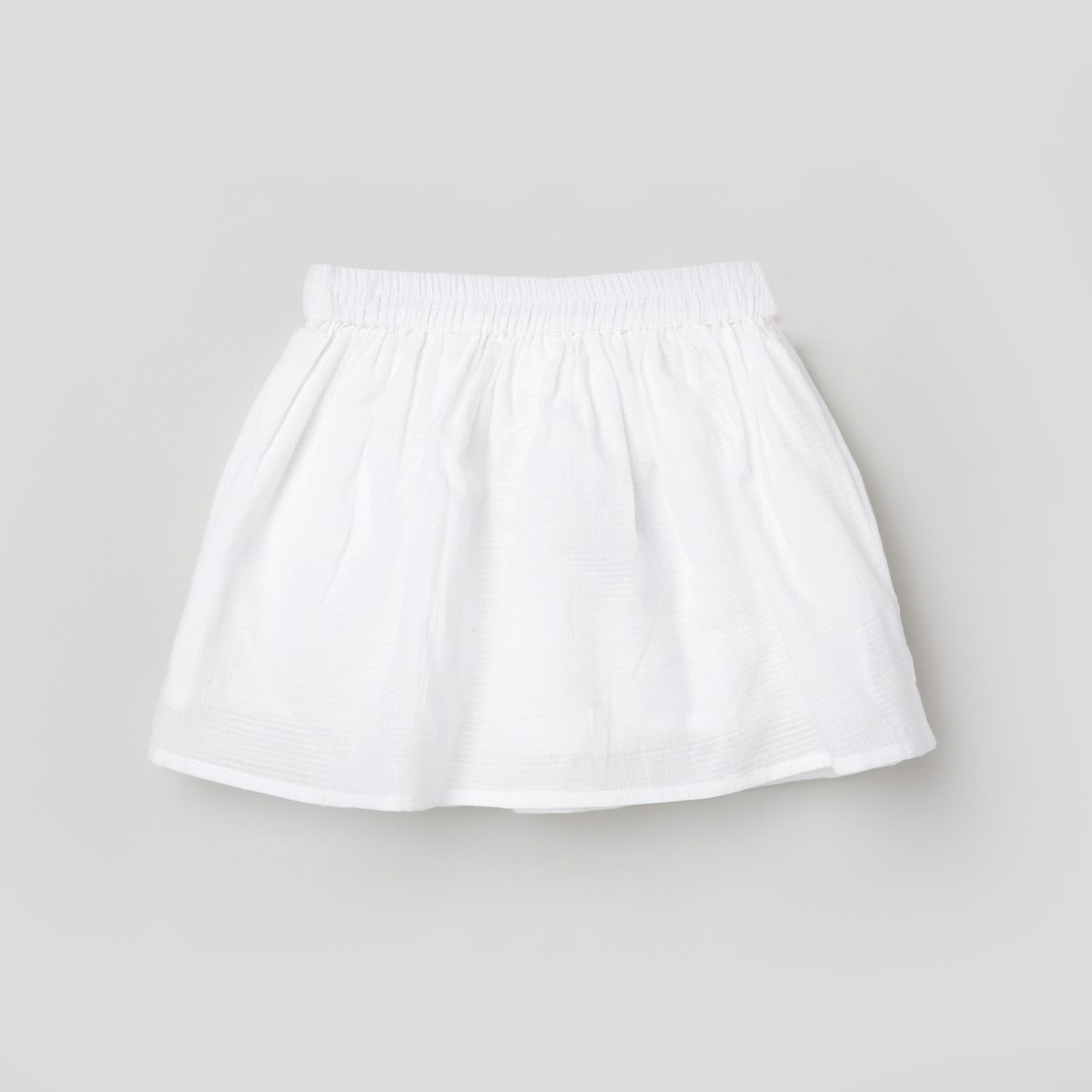 MAX Embroidered A-Line Skirt