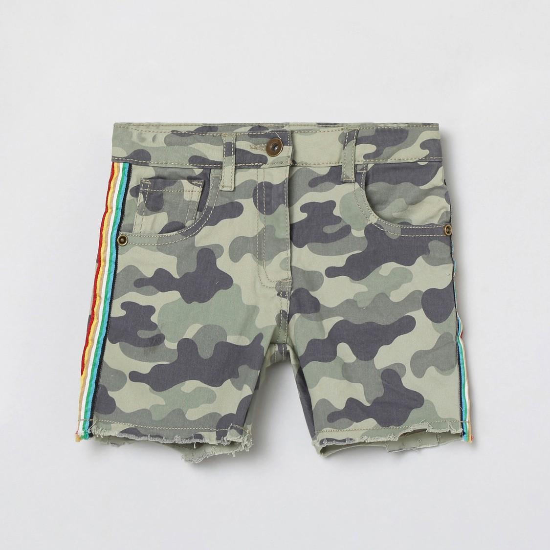 MAX Camouflage Printed Shorts