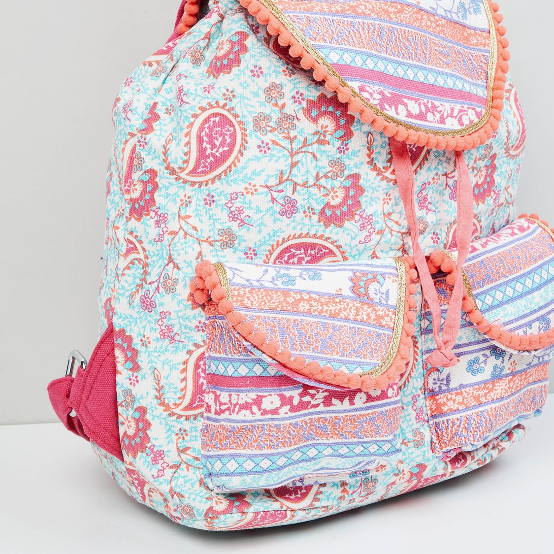 MAX Floral Print Backpack