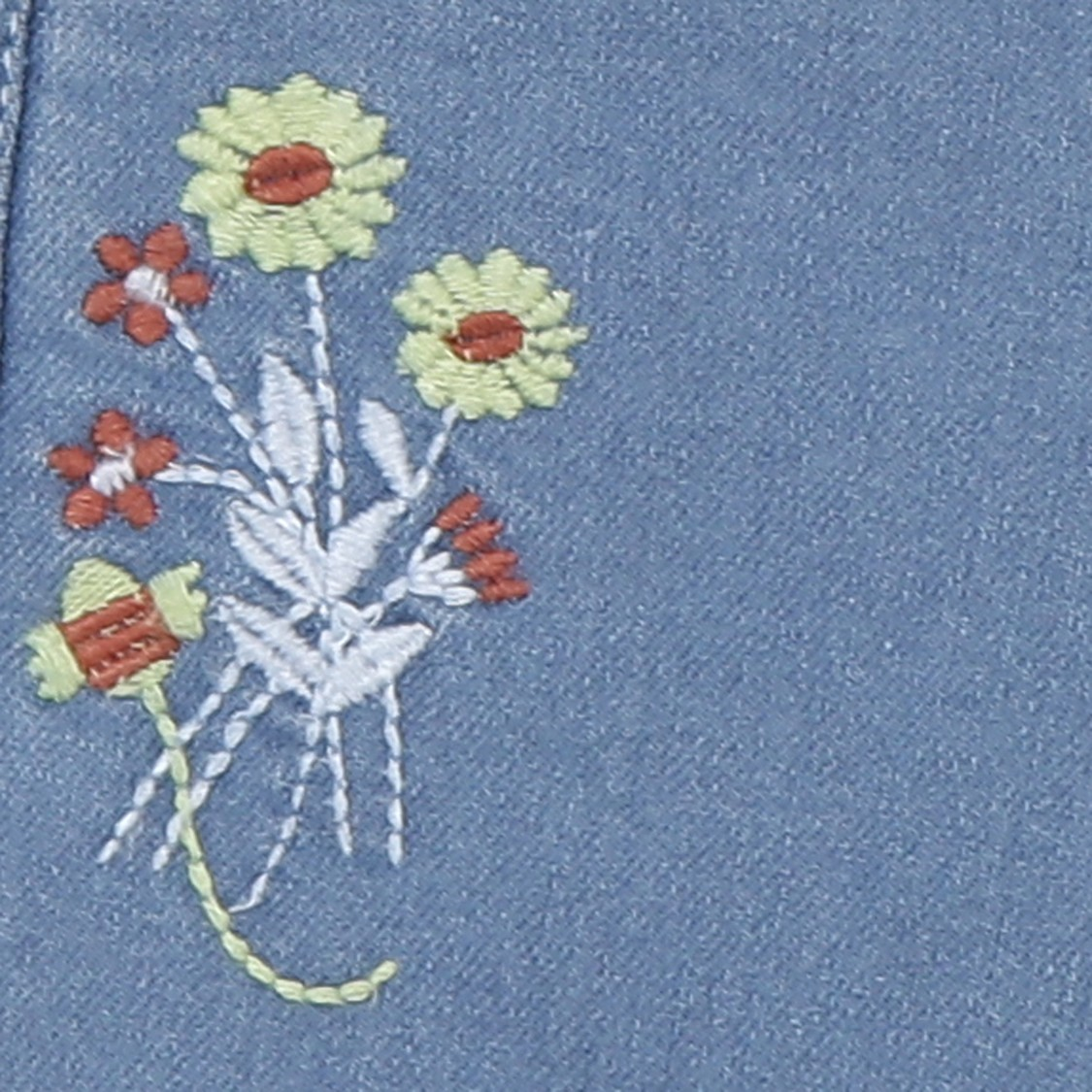 MAX Floral Embroidered Slim Fit Jeans