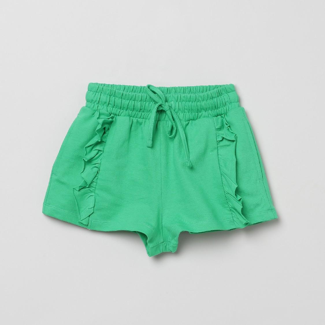 MAX Solid Knit Elasticated Shorts