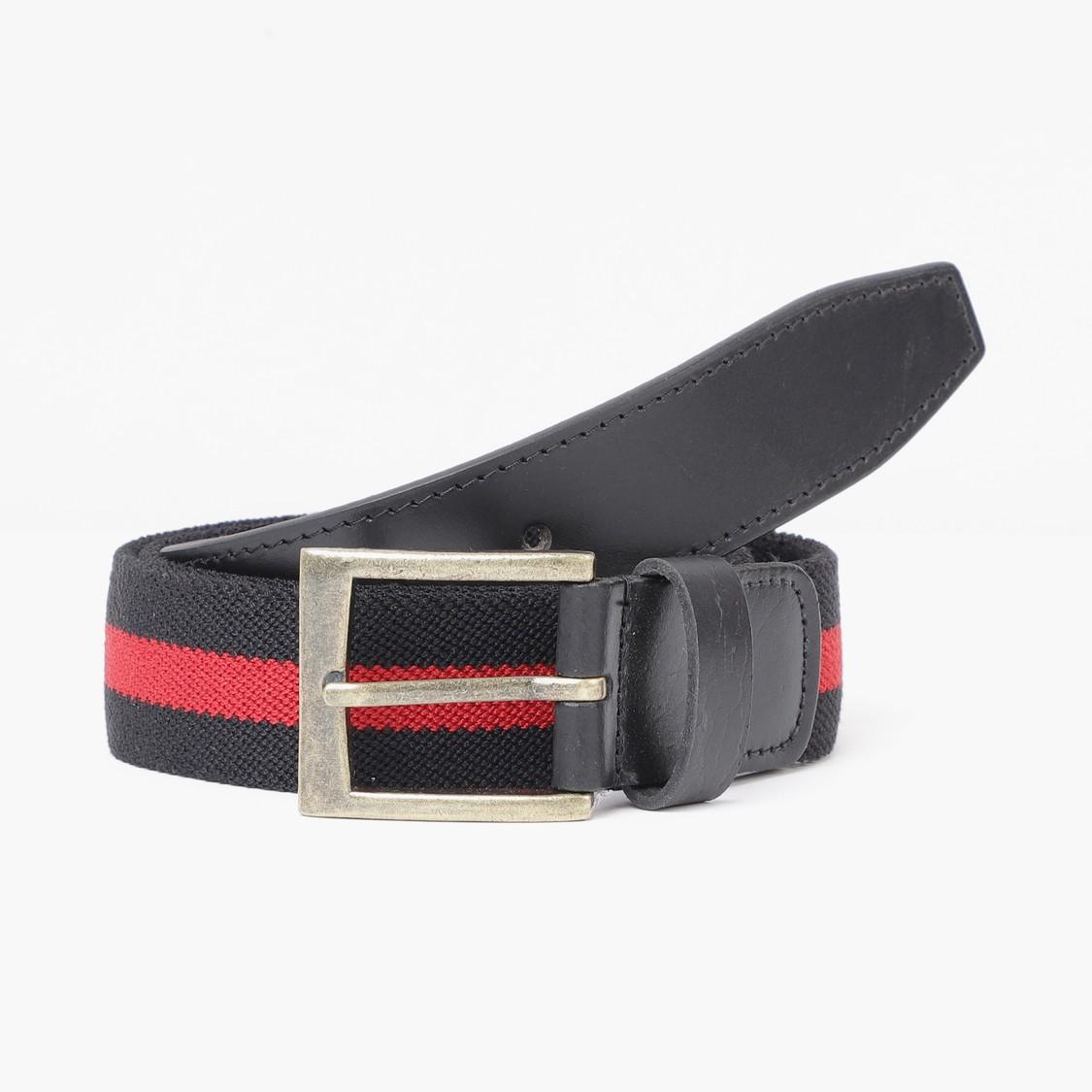 MAX Colourblocked Elasticated Casual Belt
