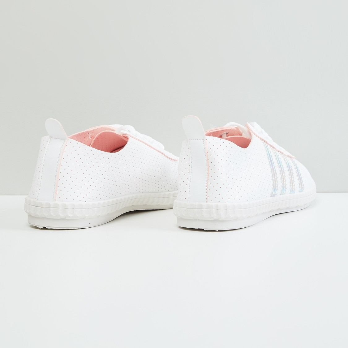MAX Striped Lace-Up Shoes