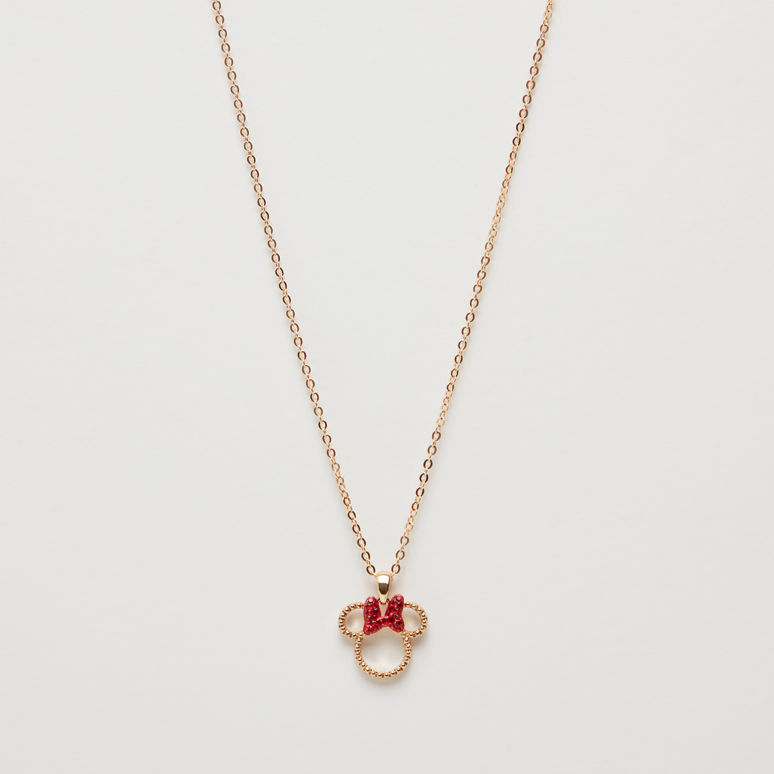 Minnie Mouse Pendant Necklace with Lobster Clasp
