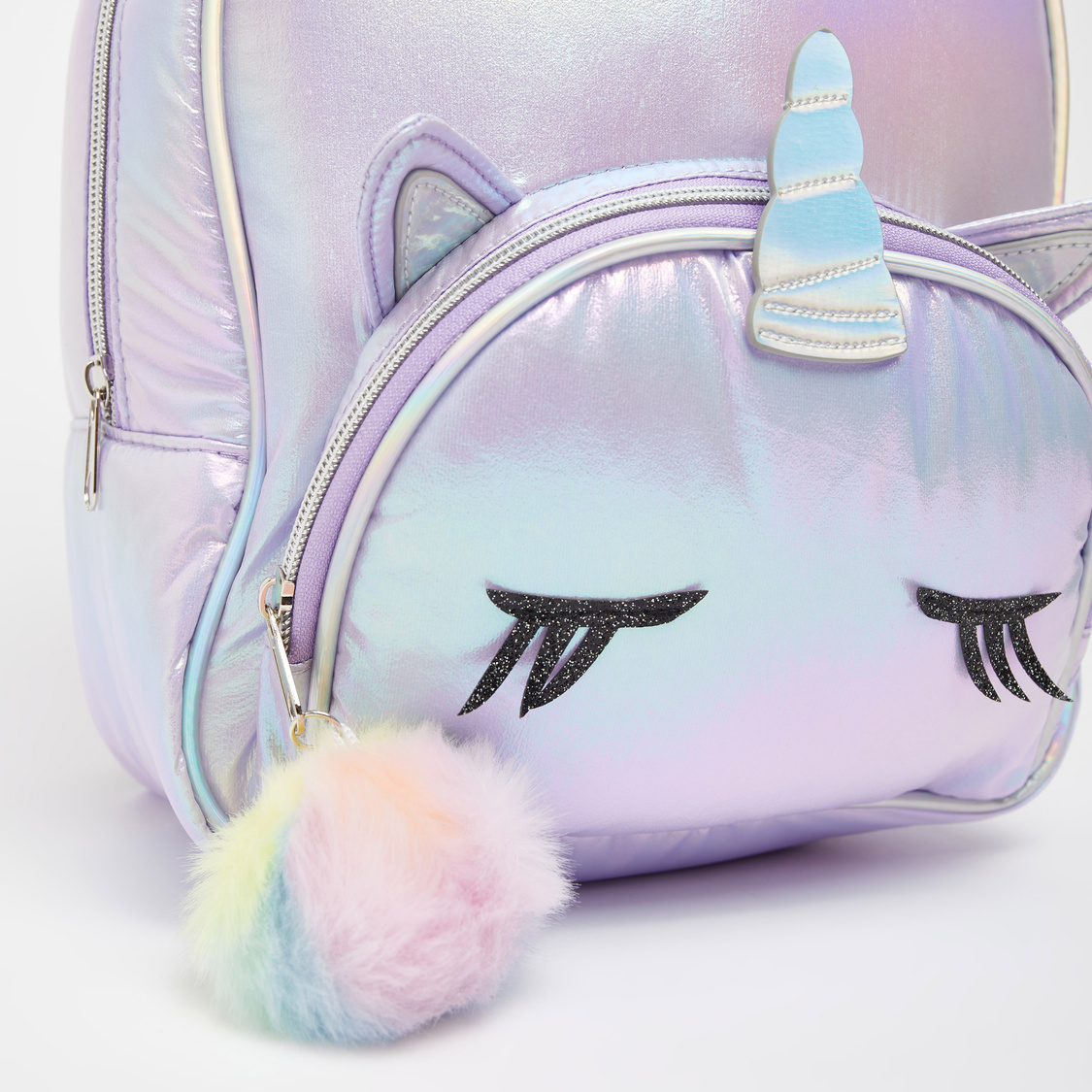 Unicorn Applique Detail Backpack with Adjustable Straps