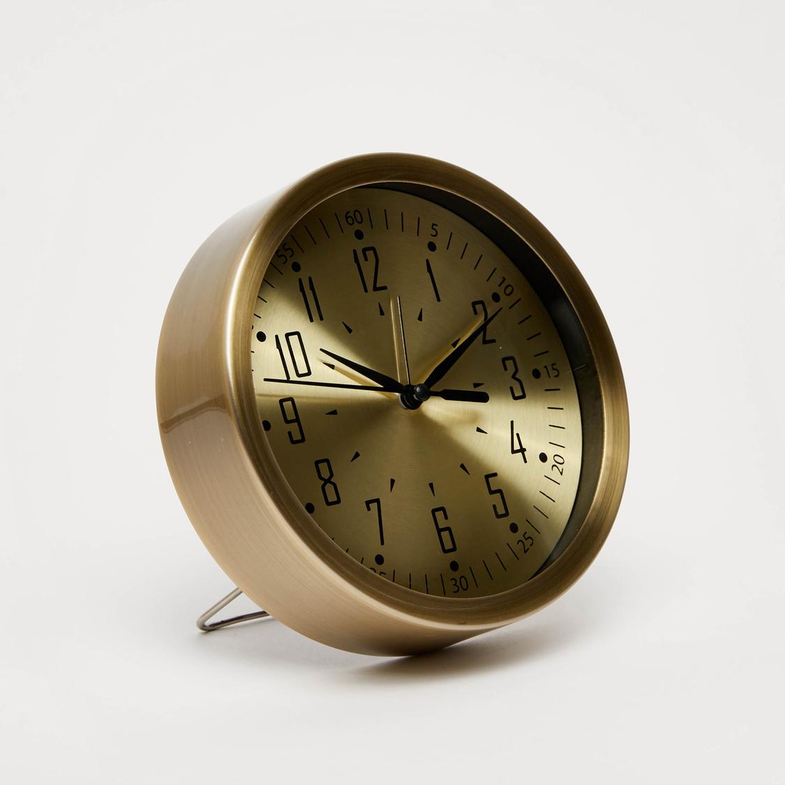 ساعة طاولة تناظريّة