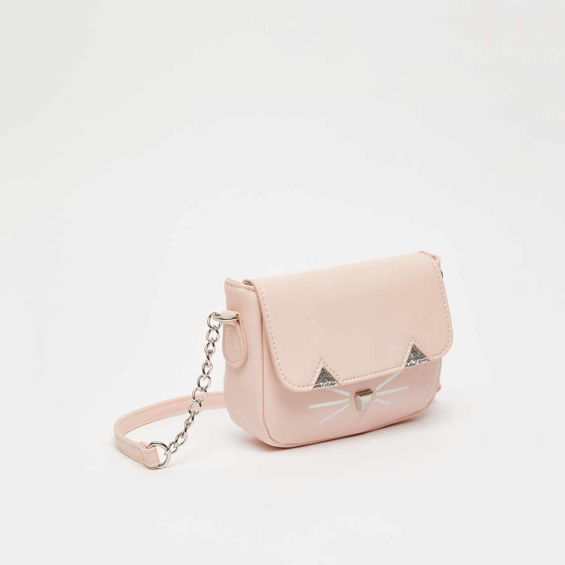 Textured Crossbody Bag with Adjustable Strap and Magnetic Snap Closure