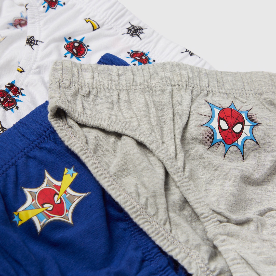 Set of 3 - Spider-Man Print Briefs with Elasticised Waistband