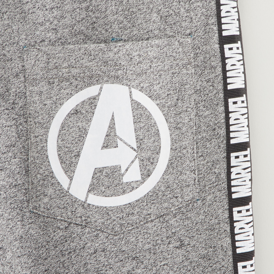 Avengers Print Jog Pants with Pocket Detail and Elasticised Waistband