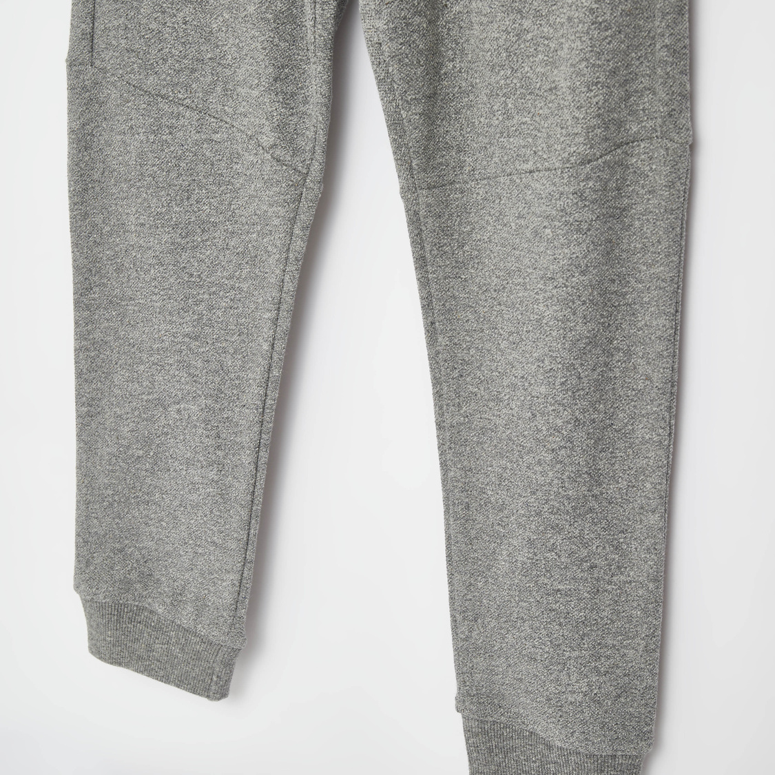 Solid Grindle Pique Jog Pants with Pockets and Drawstring