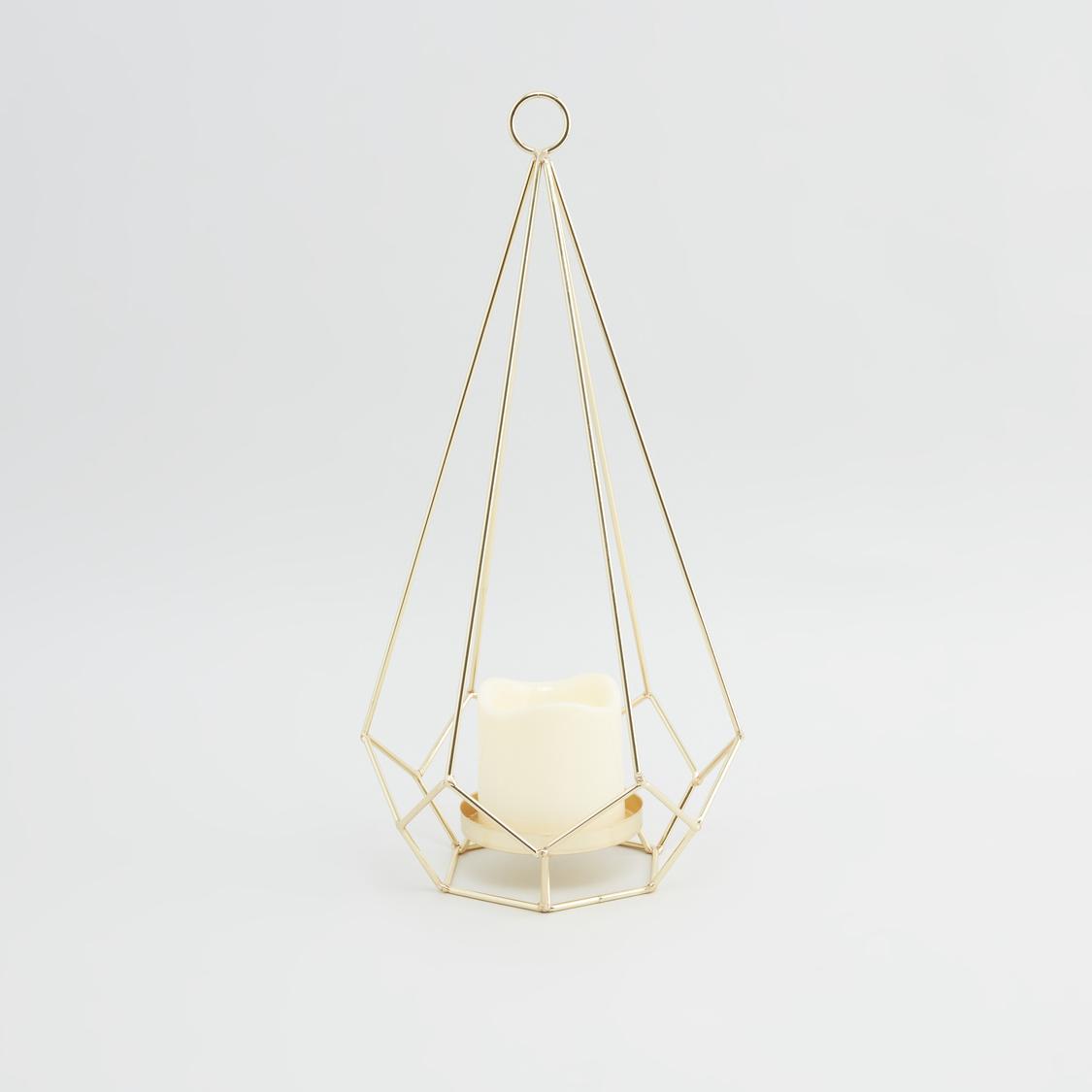 Decorative Candle Holder - 20x17x38 cms