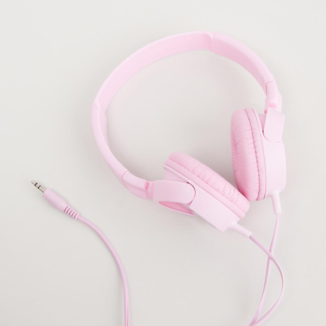 Unicorn Print Headphones with Cord