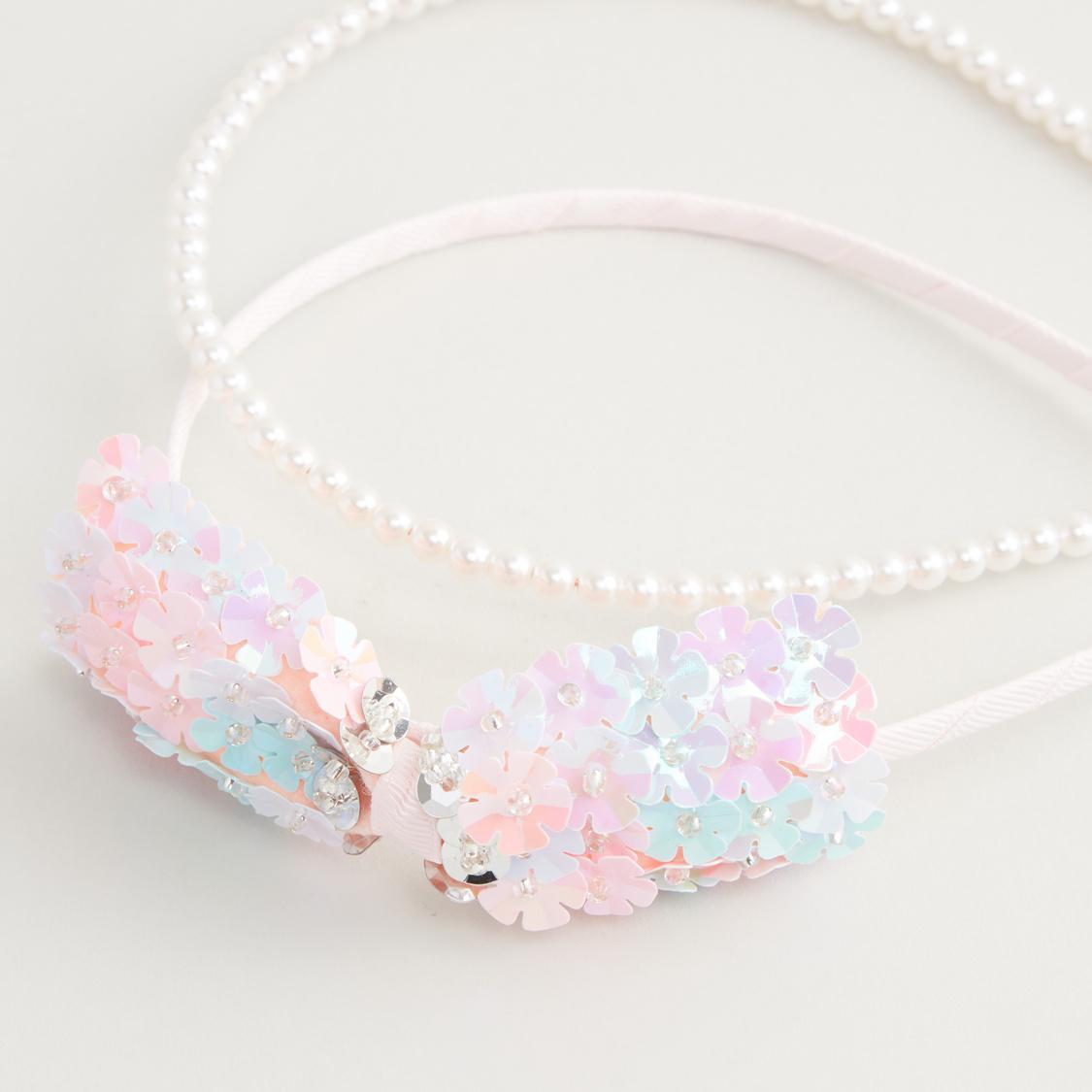 Set of 2 - Embellished Headband
