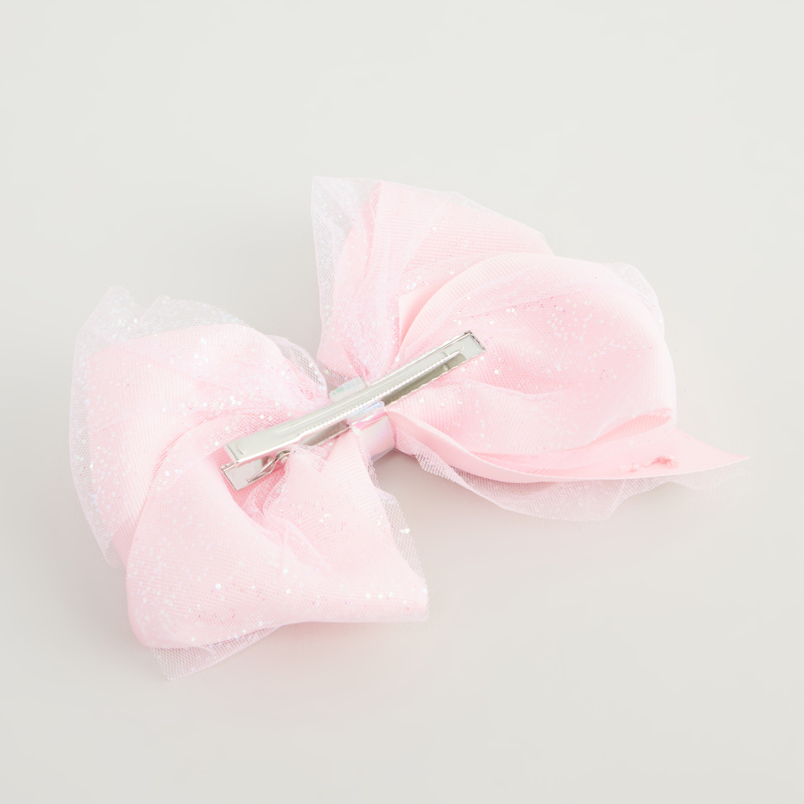 Textured Bow Detail Hairpin