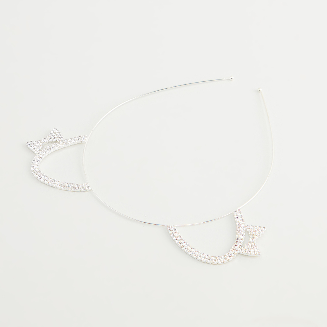 Embellished Cat Ear Detail Headband