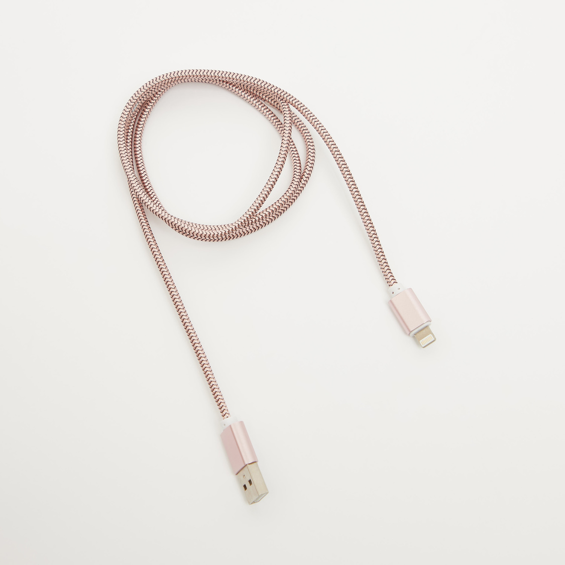 Metallic Textured USB Data Cable